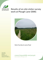 Fearnley and Floyd - 2014 - Results of on-site visitor survey work at Plough L